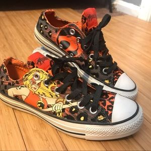 Limited edition thundercats converse shoes